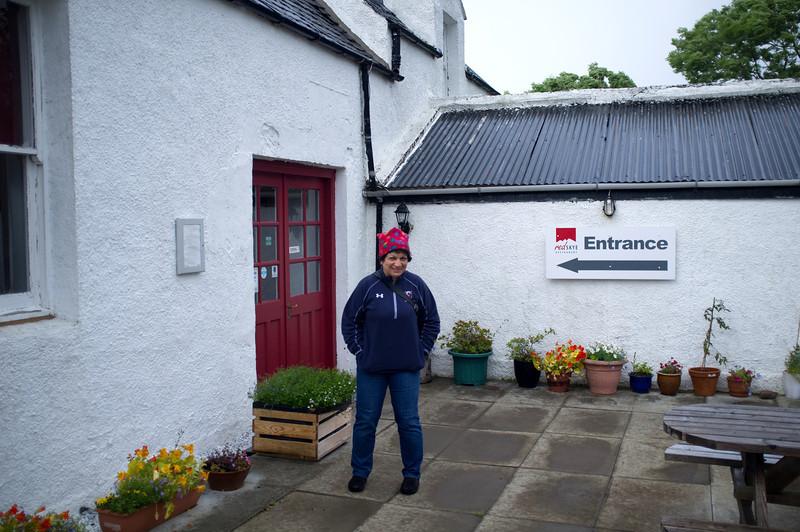 A fine restaurant in rural Skye