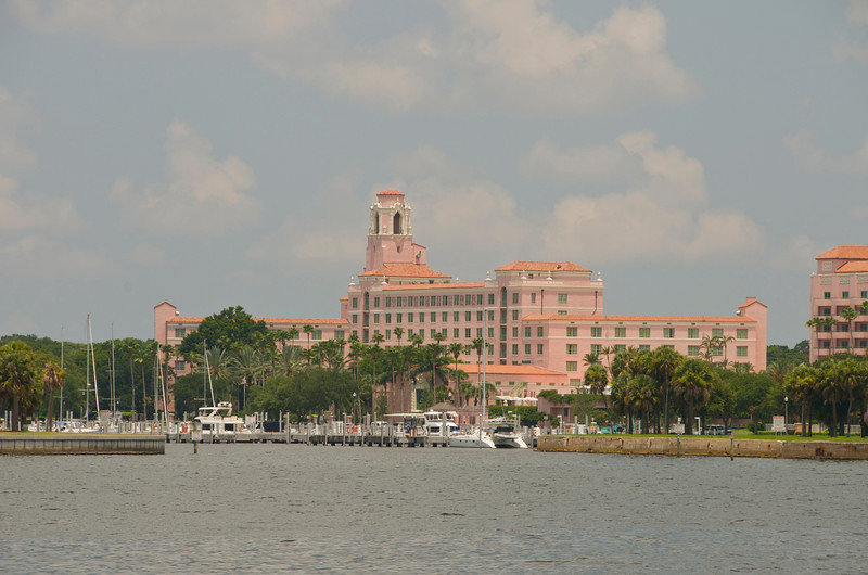 Renaissance Vinoy Resort in downtown St. Pete - built in 1925 and recently restored.