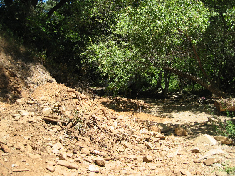 Down here in the creek bed, there's gold all around.  Sometimes it's just dust... sometimes it's much, much more!