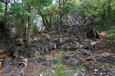 Very rocky terrain
