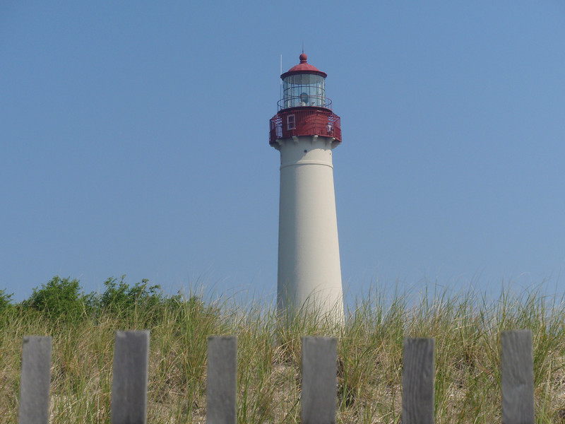 a lighthouse in cape May