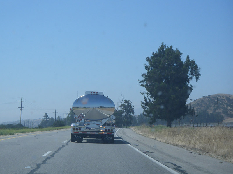 Driving back south to Santa Barbara - I always loved these shiny trucks so I whipped out the camera for this one