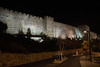 Old City Walls light up