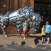 Buffalo made out of chrome bumpers