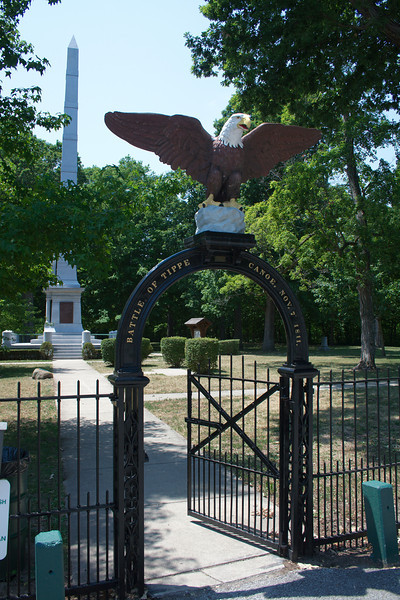 "Tippecanoe Battlefield Memorial & Museum<br /> Tippecanoe County, Indiana<br /> <br /> More info:<br />  <a href=""http://www.tcha.mus.in.us/battlefield.htm"">http://www.tcha.mus.in.us/battlefield.htm</a>"