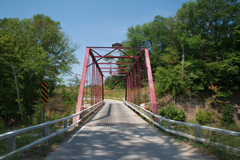 """Wilsons Bridge<br /> Carroll County, Indiana<br /> Built 1898 by the Lafayette Bridge Co.<br />  <a href=""""http://bridgehunter.com/in/carroll/wilsons/"""">http://bridgehunter.com/in/carroll/wilsons/</a><br /> <br /> Serendipity lead us to this bridge on our way to our Turkey Run State Park vacation destination. If you continue looking through this photo gallery you'll find this turned out to be somewhat of a bridge vacation. I'm thinking our next vacation might be a full bridge tour through Carroll and Parke counties."""