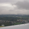 Our first sight of land in the old country on landing in Zurich
