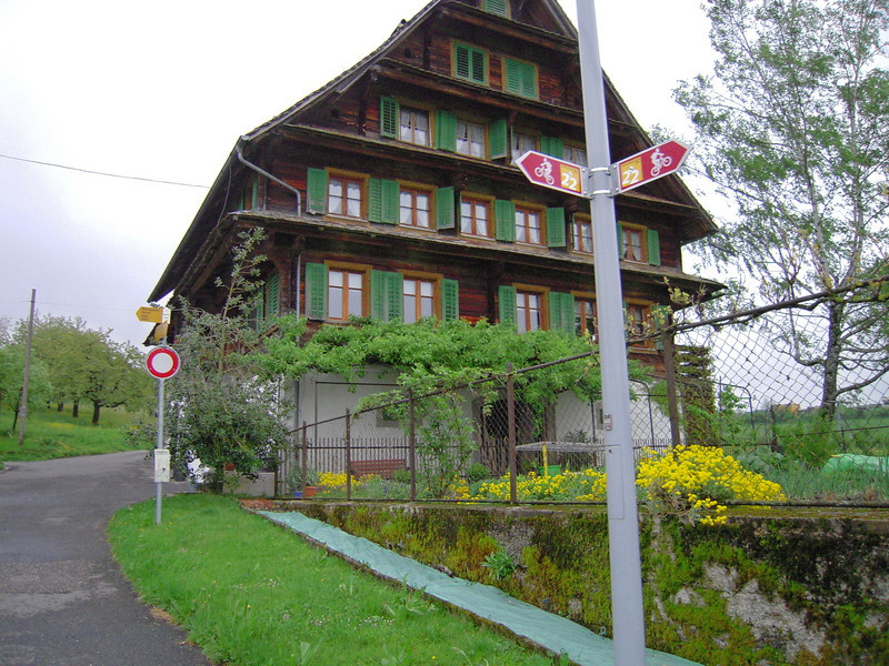 typical home in Switzerland