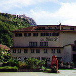 Our hotel in Netstal, which is in the canton of Glarus, southwest of Zürich, Switzerland