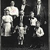 43. in the 1910 census he was living in Charlie with the Hair family. That's him at the back right.