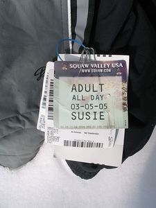 The undisputed favorite mountain was Squaw: big, gnarly, steep, and almost completely lacking in trails.  Each lift had a skill category (all blue or black - don't remember seeing any greens) and once you got to the top it was all open.