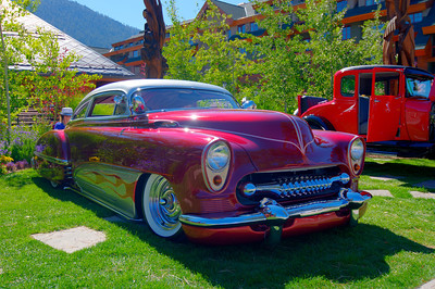 Car show at Heavenly Village