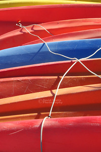 Colored Kayaks