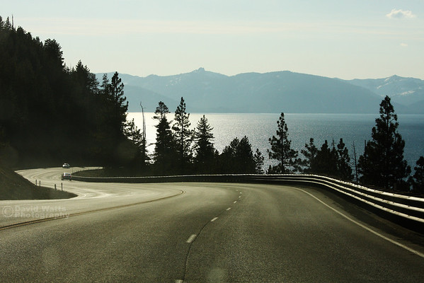 Road to Tahoe