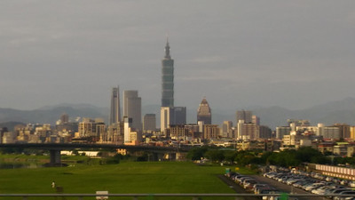 Leaving Taipei