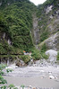 Cool mountain temple in the side of Taroko Gorge.  How did they manage to get it in there!?