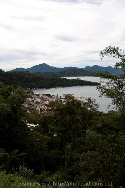 Another view of Sun Moon Lake from the hiking trail