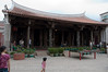 This is the a second inner building in the 800 year old temple.  It's through the octagonal doors pointed out earlier.