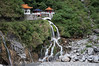 Cool mountain temple in the side of Taroko Gorge