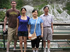 Me, Connie and her parents in Taroko Gorge