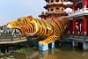 Tiger Pagoda Lotus Pond 蓮池潭虎塔