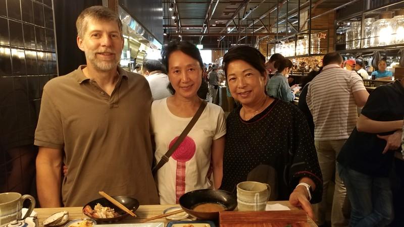"Lunch at ""Addiction Aquatic Development"" in Taipei."