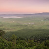 Ngorogoro Crater Panoramic View Dawn