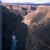 View of the Rio Grande Canyon looking north towards Colorado.