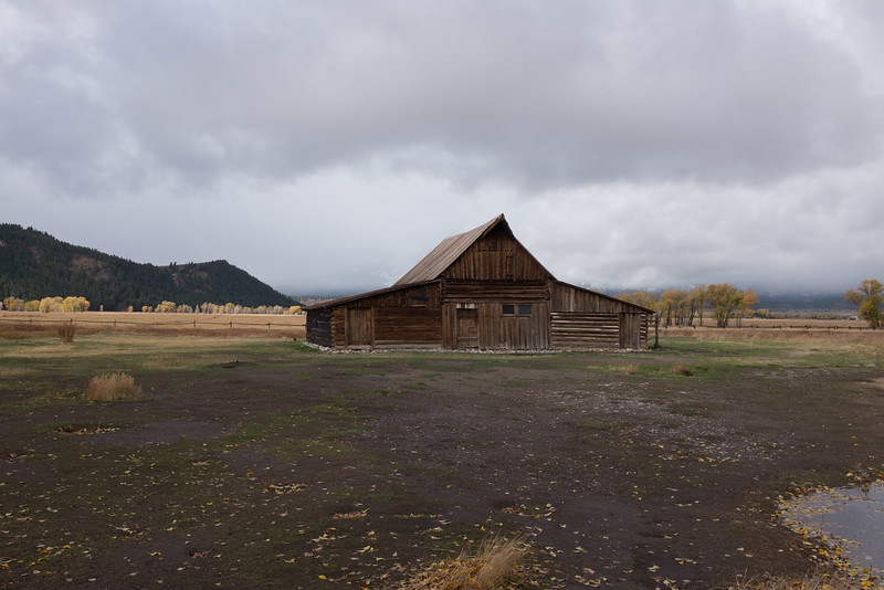 T. A. Moulton Barn Mormon Row Historic District - Grand Teton National Park