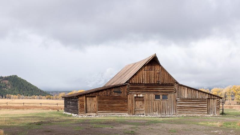 T. A. Moulton Barn Mormon Row Historic District - Grand Teton National Park