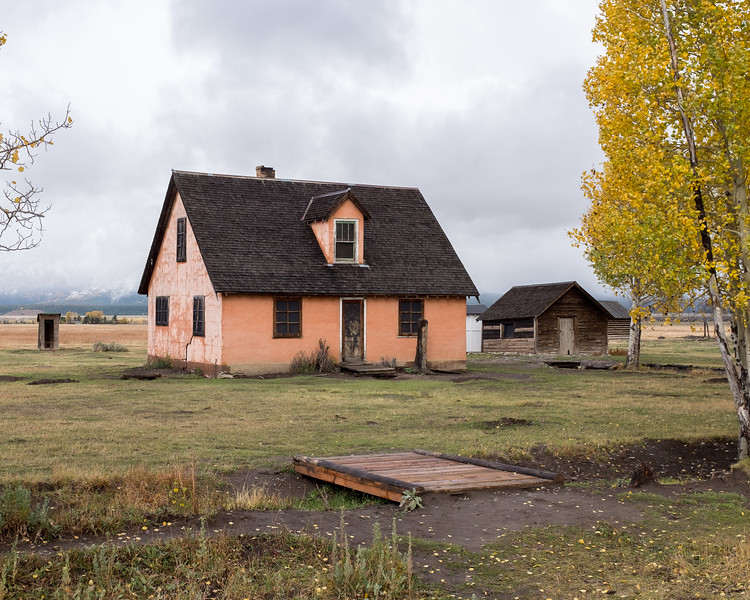 Mormon Row Historic District - Grand Teton National Park