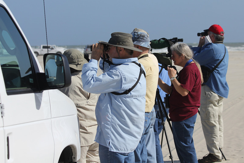 March 12, 2011 (Port Aransas Jetty / Nueces County, Texas) - Missouri Birdwatchers plus one from Tucson