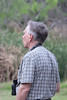 March 14, 2011 (Hugh Ramsey Nature Park, Harlingen Arroyo Colorado / Cameron County, Texas) - Bill Rowe doing his Birding Magic
