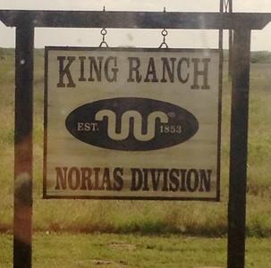 November 8, 2013 - (King Ranch [Norias Division] / Armstrong, Kenedy County, Texas) -- Signage