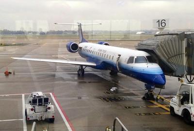 November 5, 2013 - (Saint Louis [Lambert Field] International Airport / Saint Louis County, Missouri) -- United Express aircraft to take us to Texas