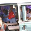 Children in a bus