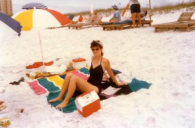 Cindy Raggio Navarre Beach Fla. 1987