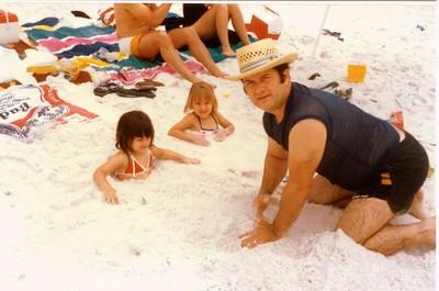 Alaina, Harmony Gabe Sr. Navarre Beach Fla. 1987