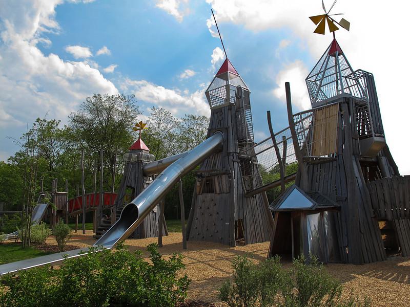 Superbe château pour les enfants
