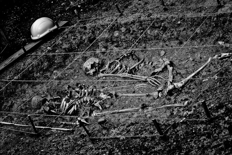 Discovery of human remains at the Bioscope