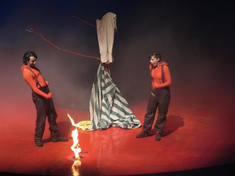 Le spectacle des Maitres du feu