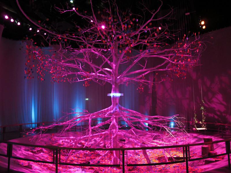 Salle de l'arbre ou des contes et histoires d'antan sont racontées