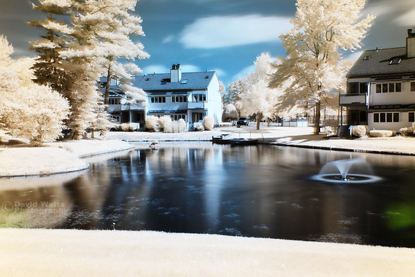 The Ponds at Foxhollow - False Color Infrared