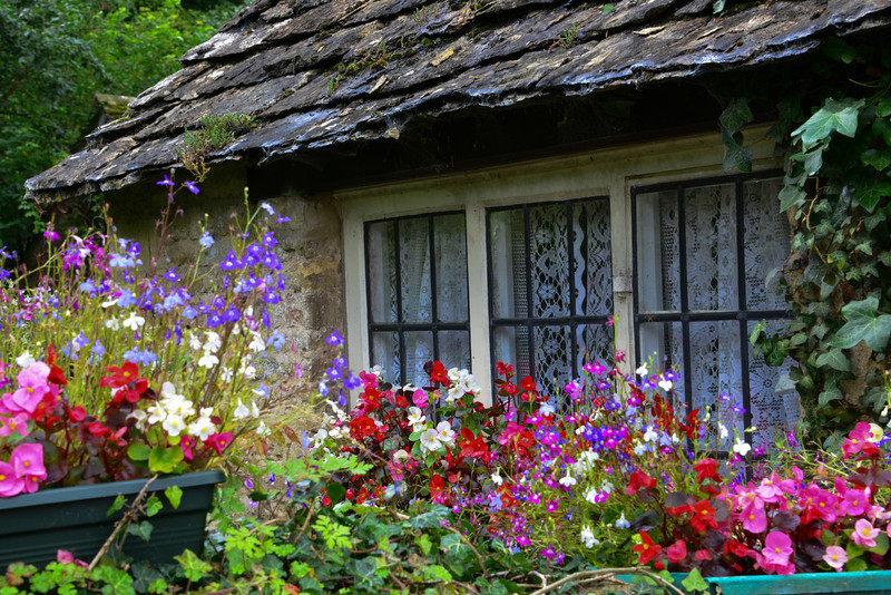 Cottage along Arlington Row