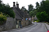 View of shops in Bibury