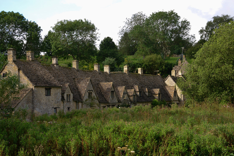 Cottages along Arlington Row in Bibury