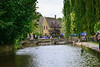 The River Rush in Burton on the Water