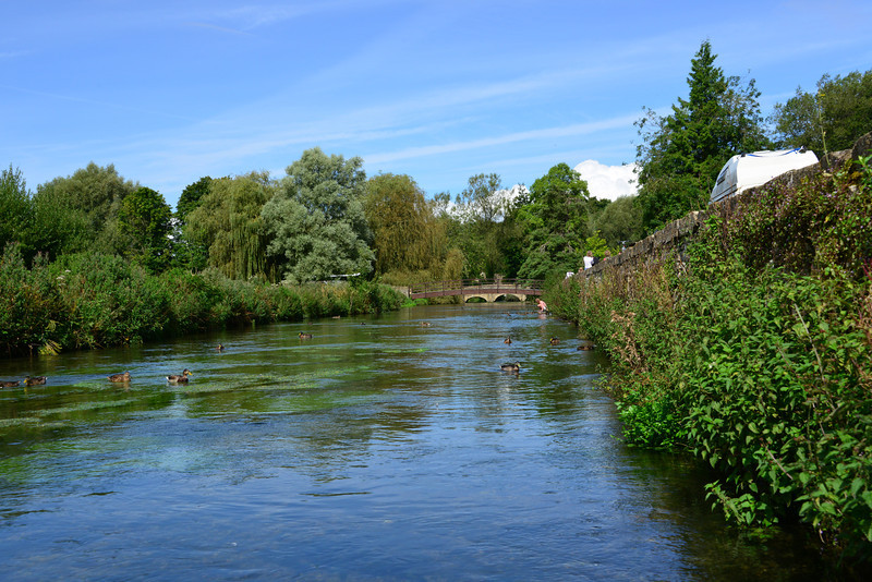 The Coln River in Bibury