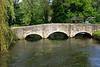 Arched bridge near Swan Hotel