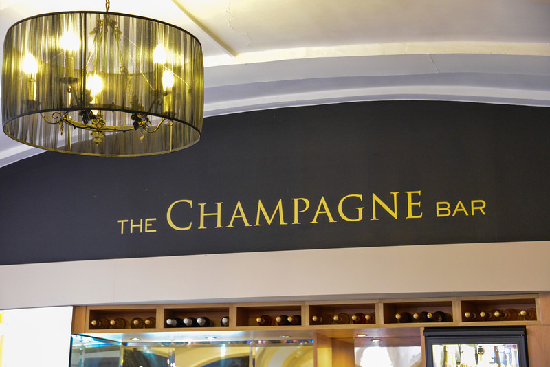Blenheim Palace...Champagne Bar.  Spent 4 hours here during the rain.